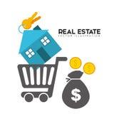 Real estate design Royalty Free Stock Photos