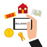 Real estate design Royalty Free Stock Photography