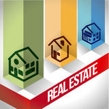 Real estate design Stock Images