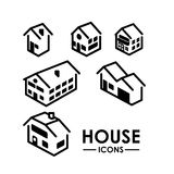 Real estate design. Over white background, vector illustration Royalty Free Stock Photos