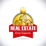 Real estate design Royalty Free Stock Image