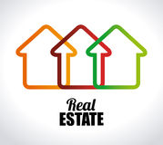 Real estate design Royalty Free Stock Images