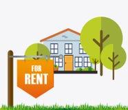 Real estate design. Stock Image