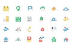 Real Estate dirigent l'icône 4 Photographie stock