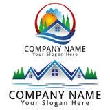 Real Estate Ecology Concept Logo Royalty Free Stock Photo