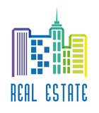 Real estate edifices and residential towers Royalty Free Stock Photos