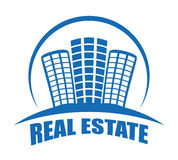 Real estate edifices and residential towers Royalty Free Stock Photo