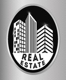 Real estate edifices and residential towers Royalty Free Stock Images