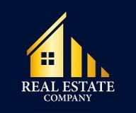 Real Estate, edificio, construcción y arquitectura Logo Vector Design Foto de archivo