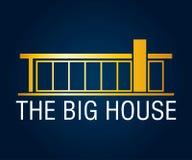 Real Estate, edificio, costruzione ed architettura Logo Vector Design Immagini Stock