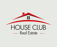 Real Estate, edificio, costruzione ed architettura Logo Vector Design Immagine Stock Libera da Diritti
