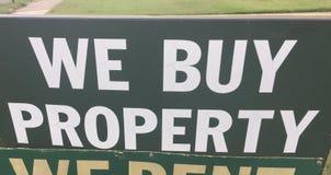 Real Estate Egenskap Köpande Företag royaltyfri bild