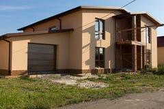 Real Estate Exterior House Building Design Royalty Free Stock Photos