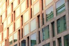 Real estate facade - modern building exterior Stock Image