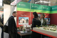 Real estate fair Stock Photo
