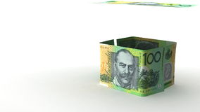 Real Estate Finance. (Australian Dollar vector illustration