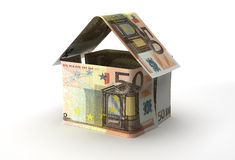 Real Estate. Finance concept (Euro currency Royalty Free Stock Photo