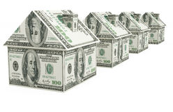 Real estate finance Stock Image