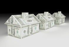 Real Estate-Financiën Stock Foto's