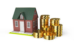 Real estate financial concept Royalty Free Stock Image