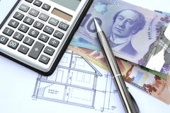 Real Estate financing in Canada Stock Images