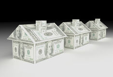 Real Estate finanzieren Stockfotos