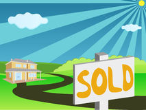 Real Estate For Sale Stock Photography