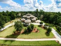 Real Estate-Fotografie van Huizen voor Verkoop in Texas stock afbeelding
