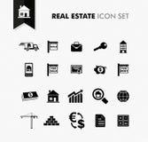 Real Estate fresh icon set. stock photos