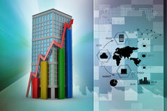 Real estate growth concept Stock Images