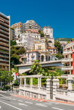 Real estate, high-rise buildings in the downtown area in Monaco, Stock Photo