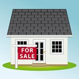 Real estate. Home for sale. Vector illustration II. royalty free stock photos