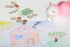 Real estate or home savings Stock Image