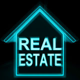 Real Estate Home Shows Selling Property Land Or Buildings Royalty Free Stock Image