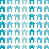 Real estate house icon Stock Images