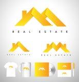 Real Estate House Logo. Real Estate Icon. Vector House Estate Logo Royalty Free Stock Photo