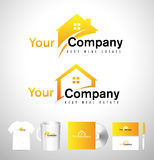 Real Estate House Logo Stock Image