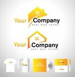 Real Estate House Logo. Real Estate Icon. Vector House Estate Logo Stock Image
