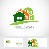 Real estate house logo icon Royalty Free Stock Photography