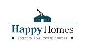 Real estate house logo. With house included Royalty Free Stock Photo