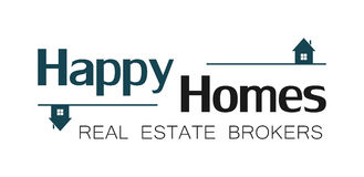 Real estate house logo (3). Real estate house logo with house included Stock Photos