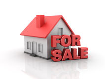 Real Estate - House for Sale Stock Photography