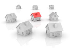 Real Estate - Houses Royalty Free Stock Photos