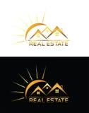Real Estate-huisembleem royalty-vrije illustratie