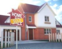 Real Estate-Huiszaken en Financiën Stock Fotografie