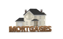 Real Estate-Hypotheken Lizenzfreies Stockfoto