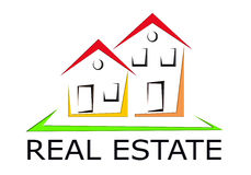 Real Estate Icon Stock Photography