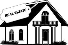 Real estate. Icon for design stock photos
