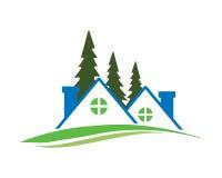Real estate icon stock illustration