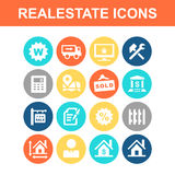 Real Estate icon Stock Images